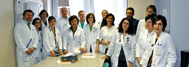 Lo staff della S.C. Pediatria